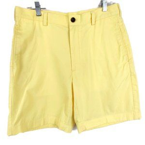 Brooks Brothers Yellow 346 Bermuda Chino Shorts 33
